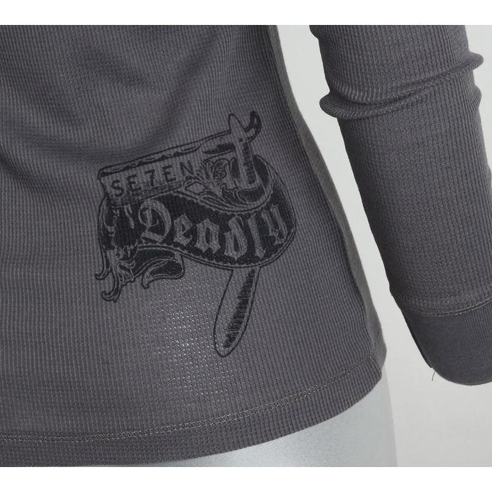 tričko dámské s dlouhým rukávem SE7EN DEADLY - Embalming Fluid