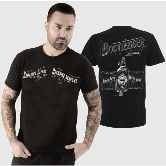 tričko pánské SE7EN DEADLY - Bootlegger