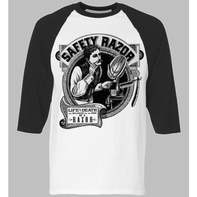 tričko pánské s 3/4 rukávem SE7EN DEADLY - Safety Razor BaseBall