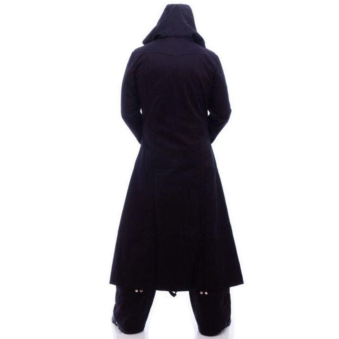 kabát pánský NECESSARY EVIL - Highwayman Full Length - Black