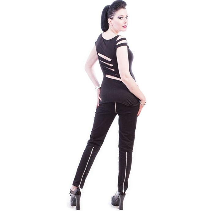 kalhoty dámské NECESSARY EVIL - Ghotic - Black
