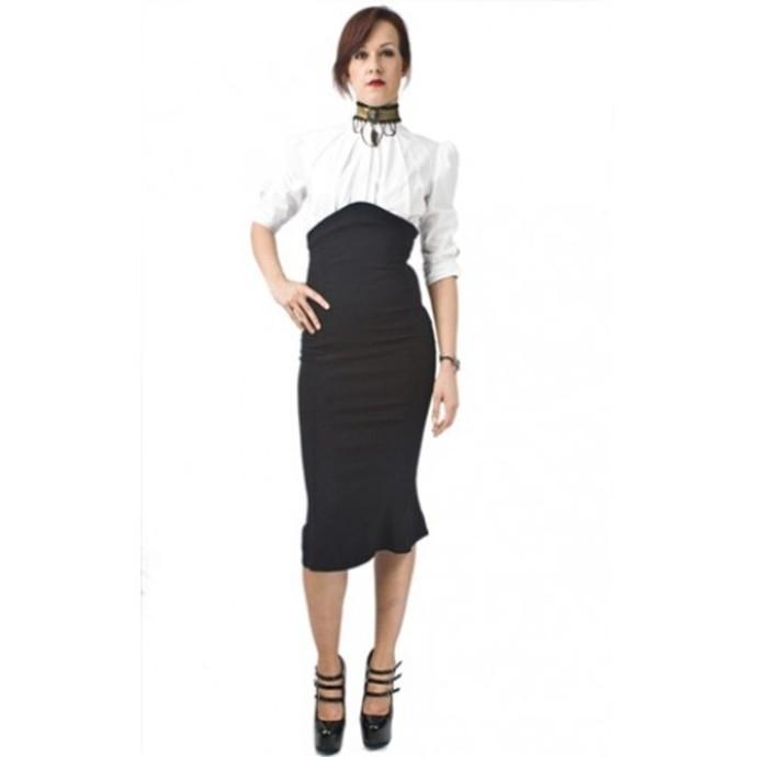sukně dámská NECESSARY EVIL - Lyssa High Waisted - Black