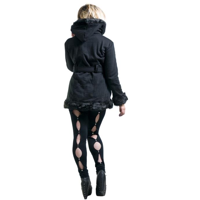kalhoty dámské (leginy) NECESSARY EVIL - Circe - Black
