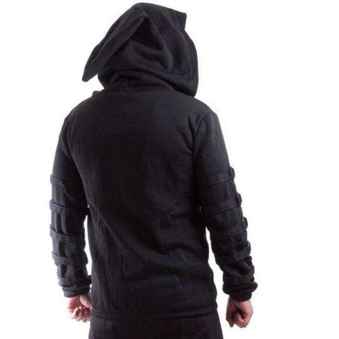 mikina pánská NECESSARY EVIL - Cratos o Ring - Black