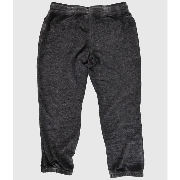 kalhoty dámské 3/4 (tepláky) CONVERSE - WASHED TRIBLEND - Dark Gray