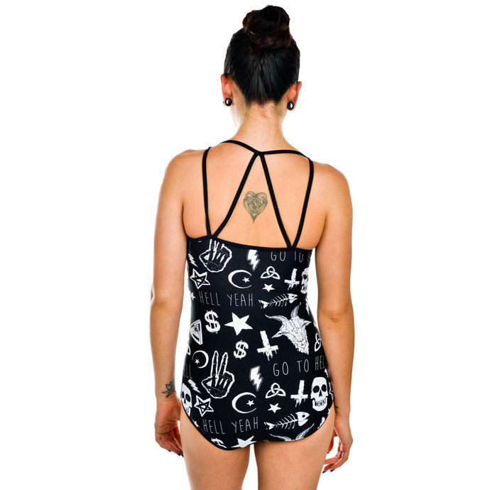plavky dámské TOO FAST - Pentagram