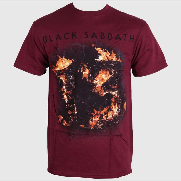 tričko pánské Black Sabbath - Twe Maroon - Red - BRAVADO