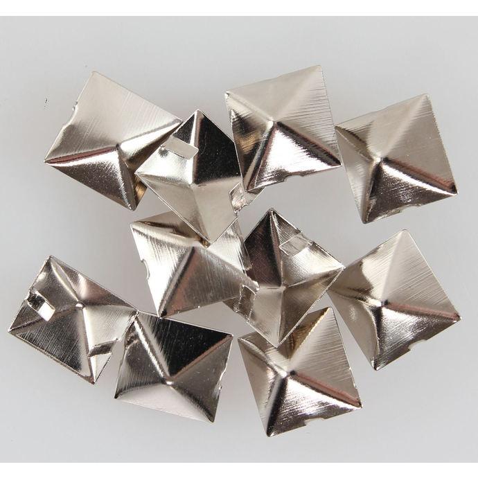 pyramidy kovové - 10ks