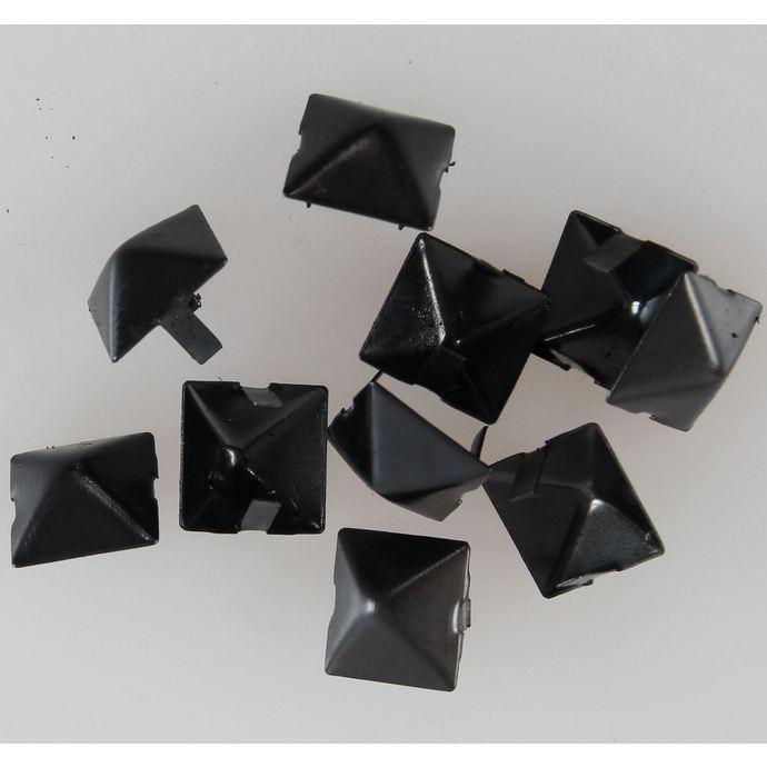 pyramidy kovové BLACK - 10ks