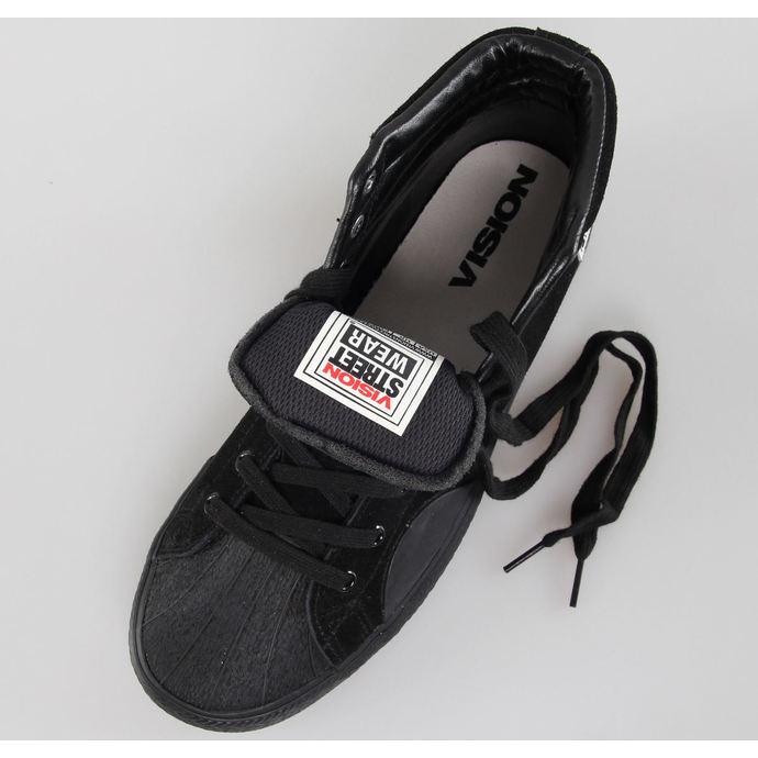 boty pánské VISION - Suede HI - Black/Black