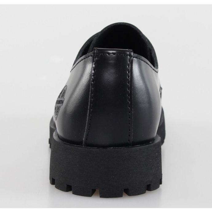boty NEVERMIND - 3 dírkové - Black Polido