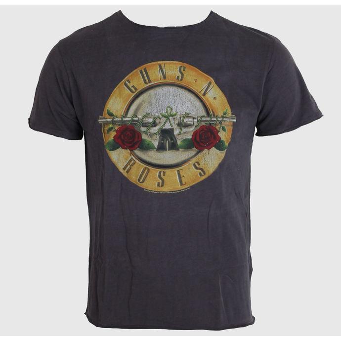 tričko pánské AMPLIFIED - Guns N' Roses - Drum - Charcoal