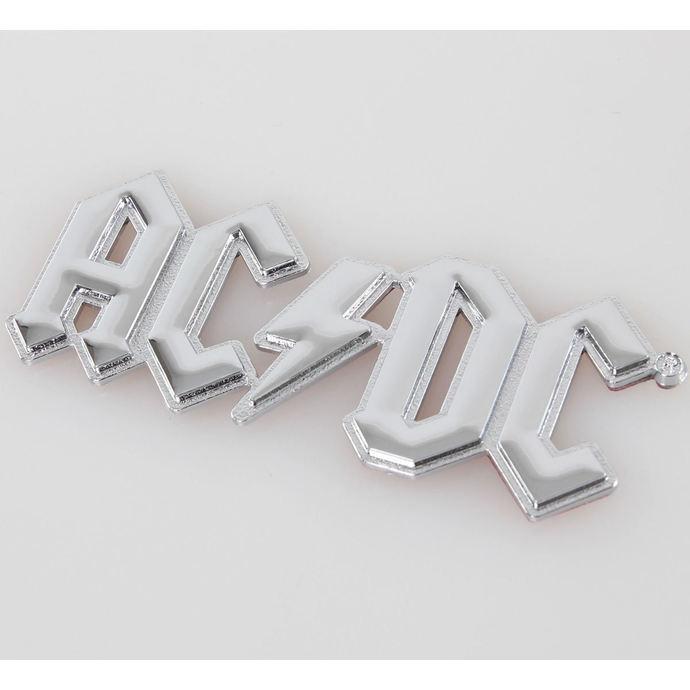 nálepka 3D AC/DC - Chromlogo