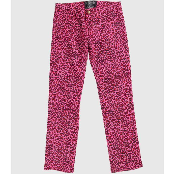 kalhoty dámské COLLECTIF - Pink