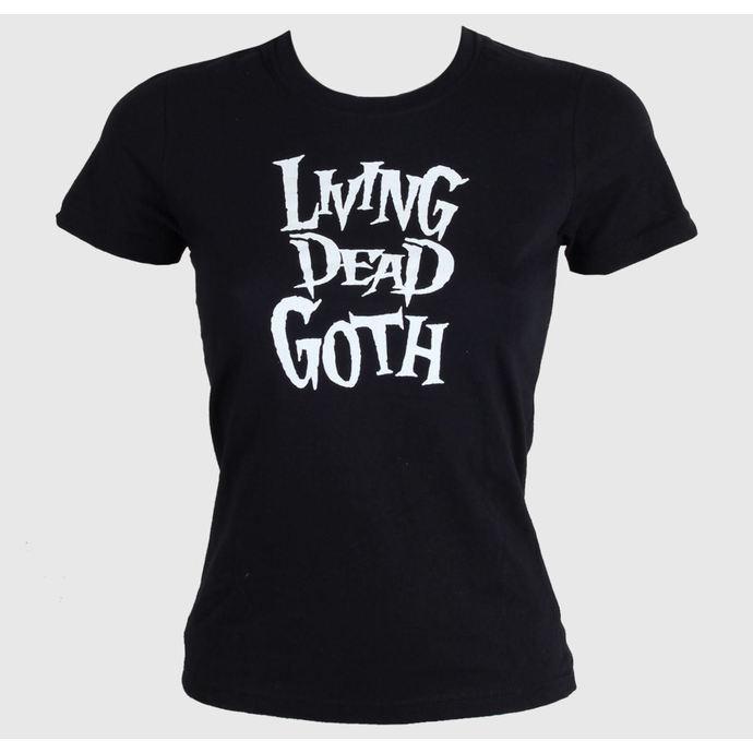 tričko dámské BAT ATTACK - Living Death Goth - Black