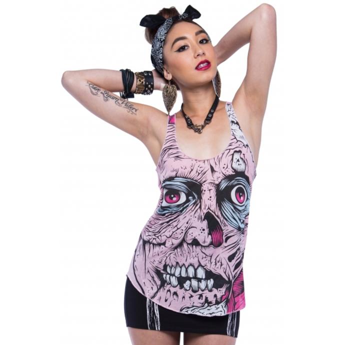 tílko dámské IRON FIST - Grave Dancer - Pink