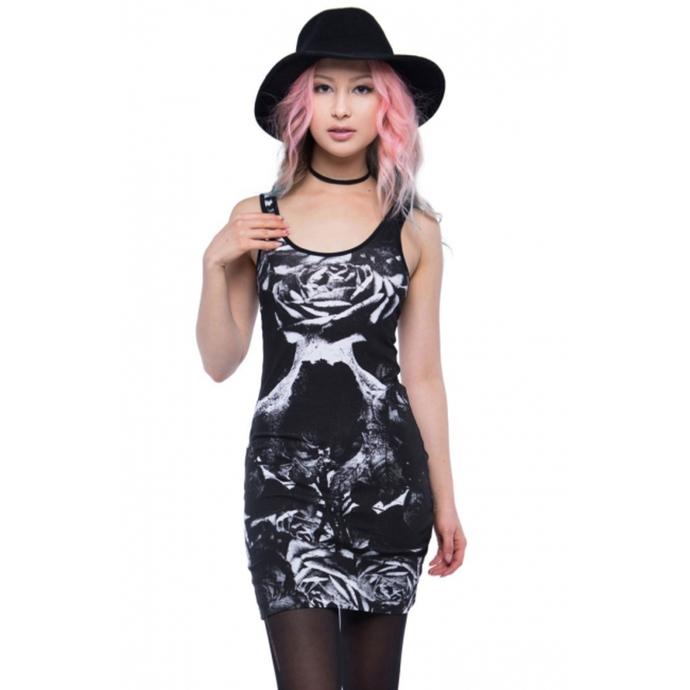 šaty dámské IRON FIST - Garden Secrets - Black