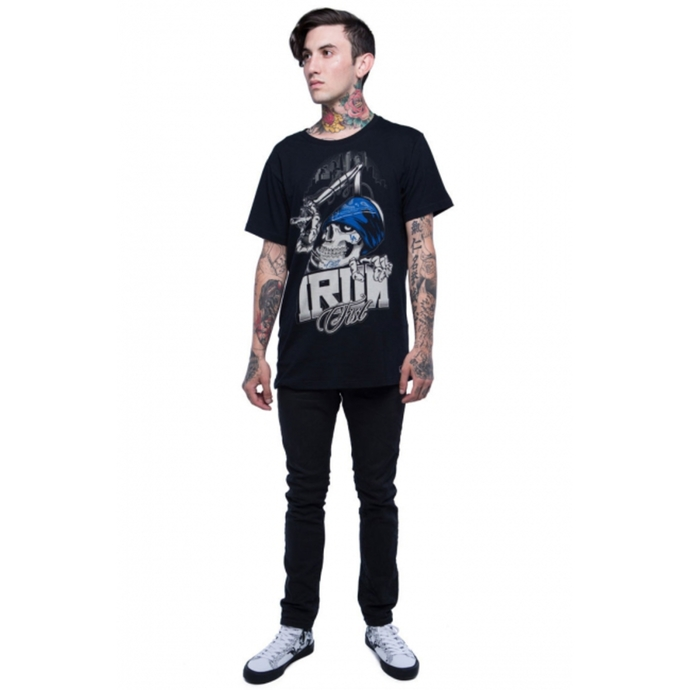 tričko pánské IRON FIST - Left Coast - Black