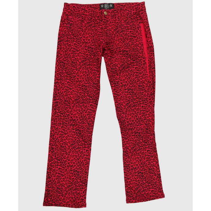 kalhoty dámské COLLECTIF - Red