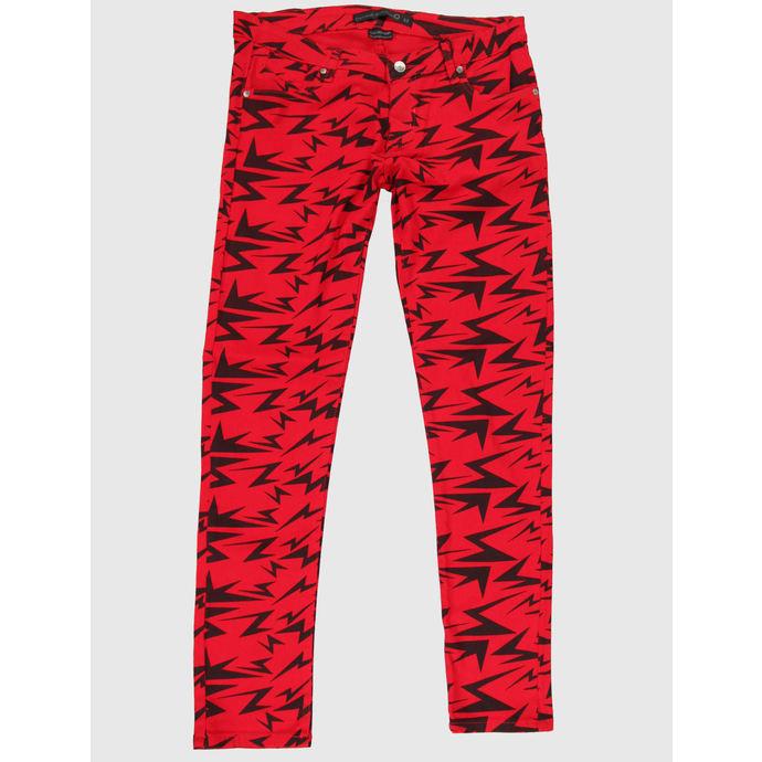kalhoty dámské CRIMINAL DAMAGE - Red