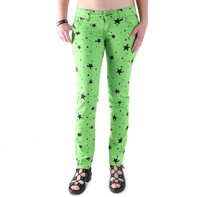 kalhoty dámské 3RDAND56th - Lime