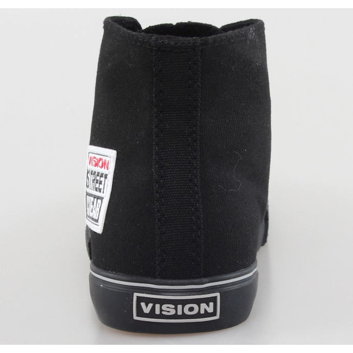 boty pánské VISION - Canvas HI - Black/Black