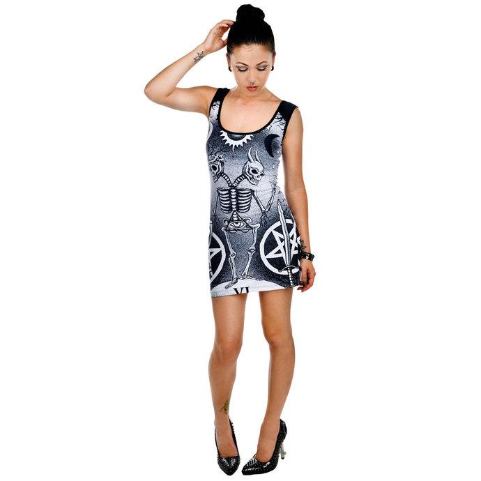 šaty dámské TOO FAST - Death Tarot