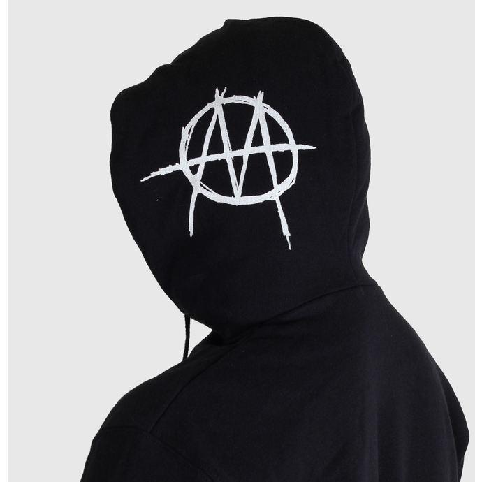 mikina pánská Ministry - Skull - Black - ART WORX