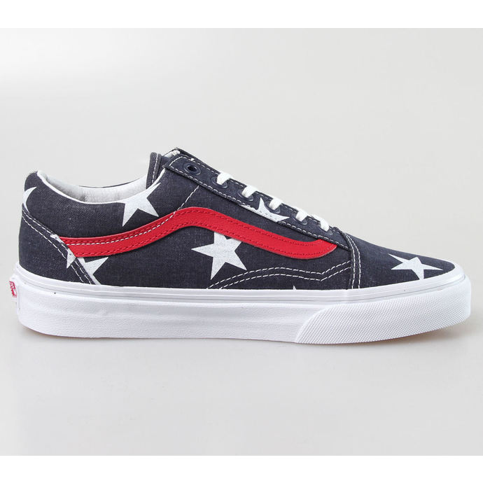 boty VANS - OLD SKOOL (Stars Stripe) - True - White