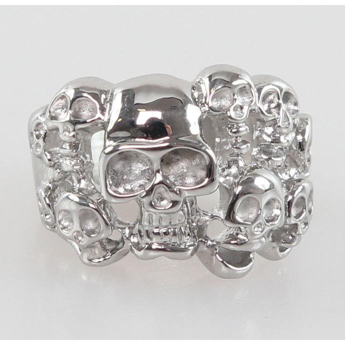prsten Skulls