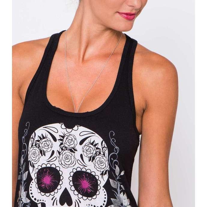 tílko dámské METAL MULISHA - Sugary Skull