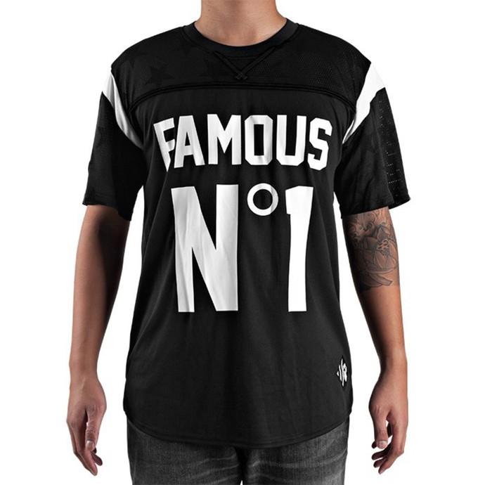 tričko pánské (dres) FAMOUS STARS & STRAPS - NO.1 - Jersey/Black