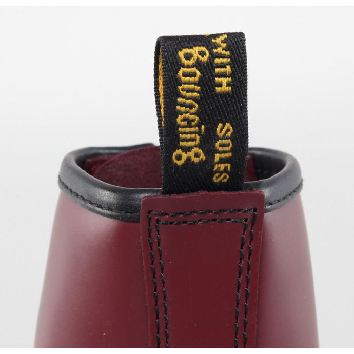 boty DR. MARTENS - 8 dírkové - 1460 - CHERRY RED  SMOOTH