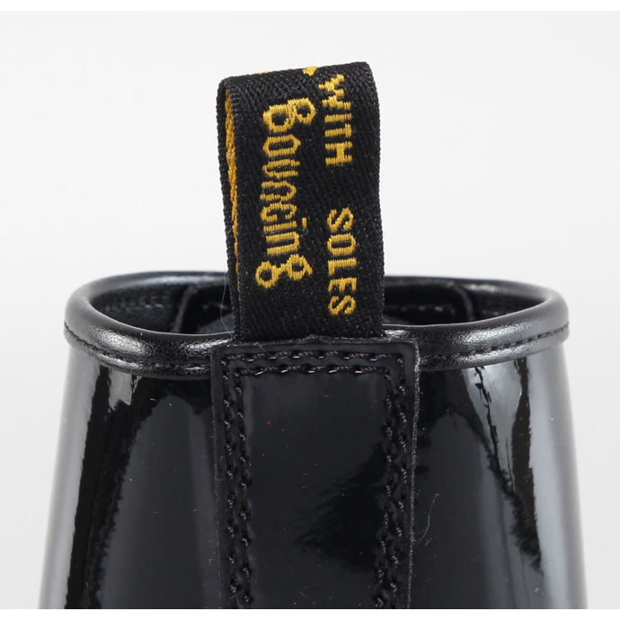 boty DR. MARTENS - 8 dírkové - 1460 - W BLACK PATENT LAMPER