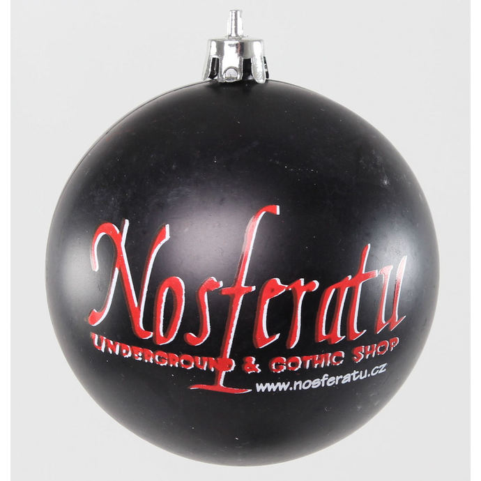 vánoční výzdoba (baňky) Nosferatu - Black