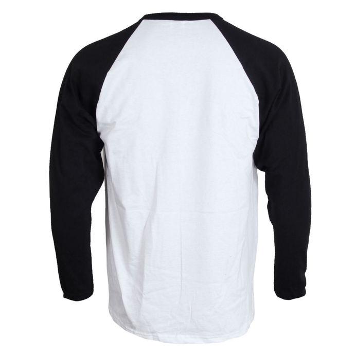 tričko pánské s dlouhým rukávem AC/DC - Rock Canon - WHITE - LIVE NATION