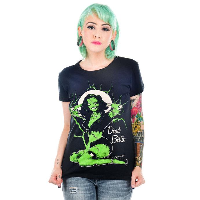 tričko dámské TOO FAST - Black