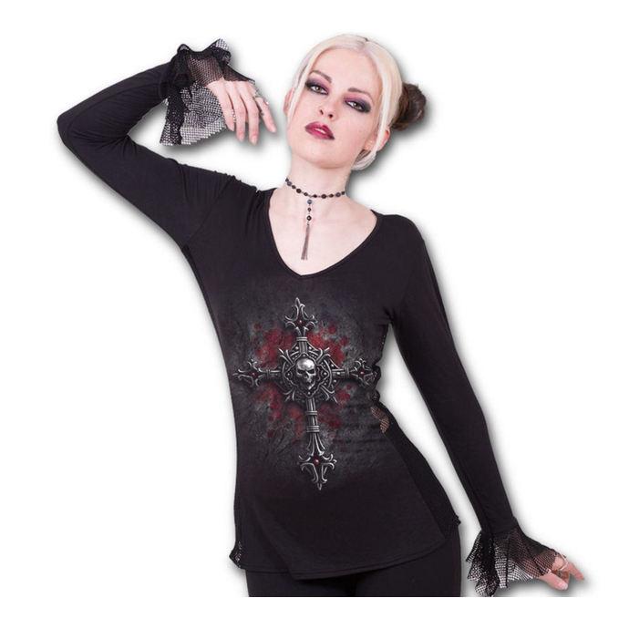tričko dámské s dlouhým rukávem SPIRAL - Vamp Fangs