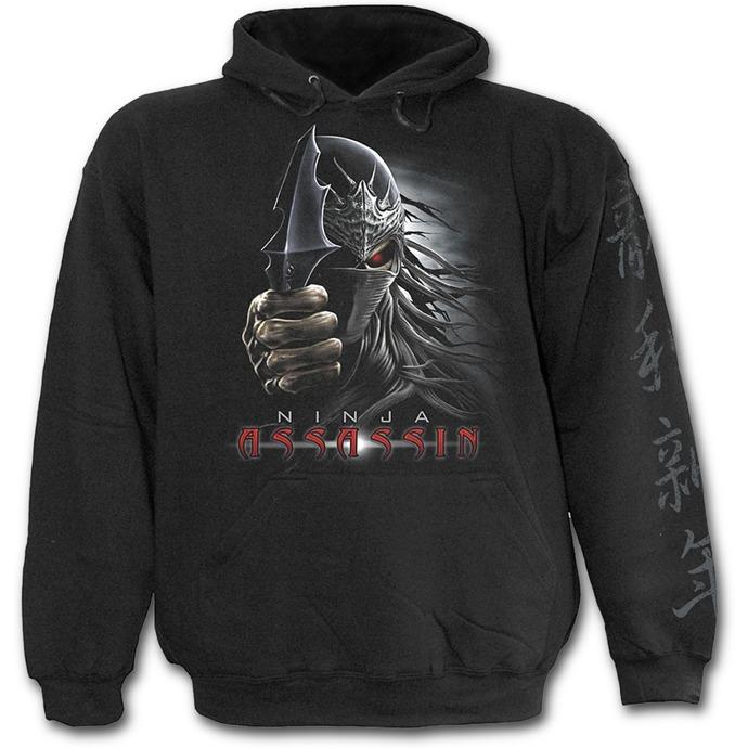 mikina dětská SPIRAL- Ninja Assassin - Black