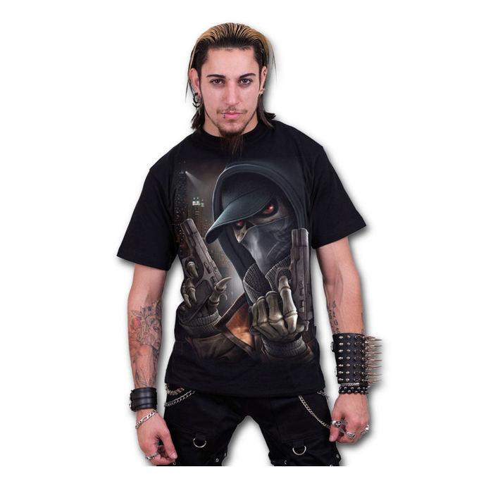 tričko pánské SPIRAL - Street Reaper - Black