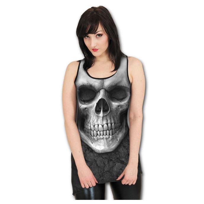 šaty dámské SPIRAL - Solemin Skull - Black