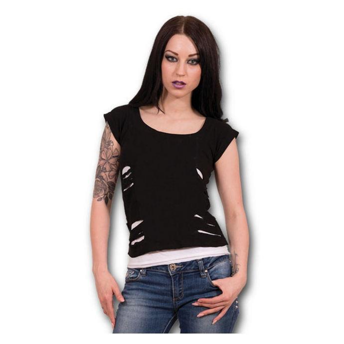 tričko dámské SPIRAL - Urban Fashion - Black