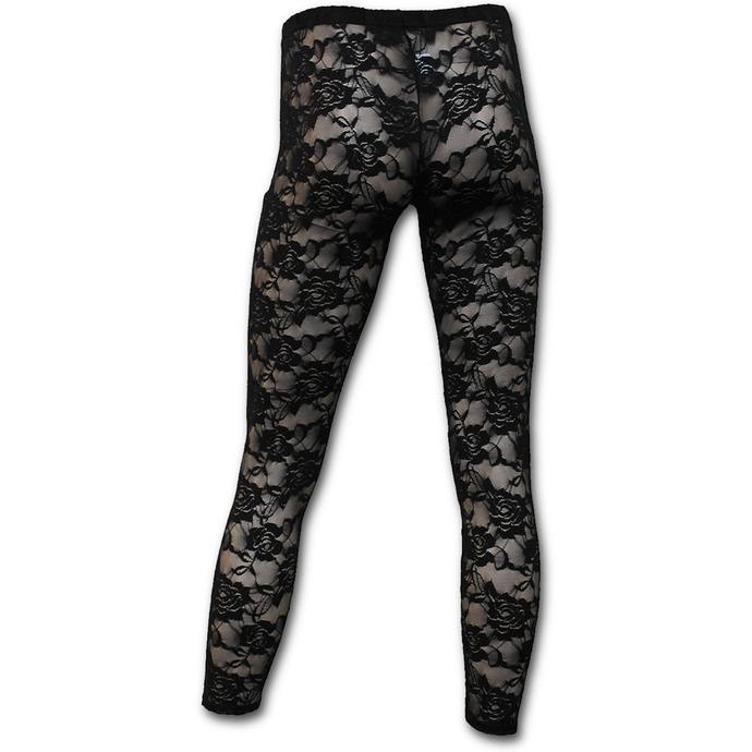 kalhoty dámské (legíny) SPIRAL - Gothic Elegance - Black