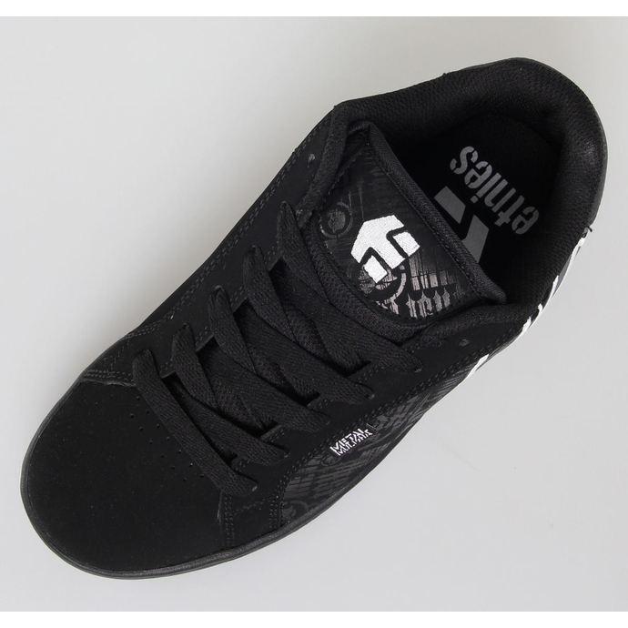 boty pánské ETNIES - Metal Mulisha - Fader 552 - Black/Black/White