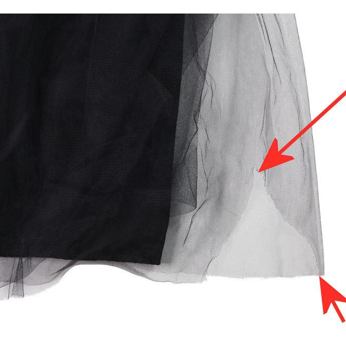 šaty dámské ADERLASS - Black - POŠKOZENÉ