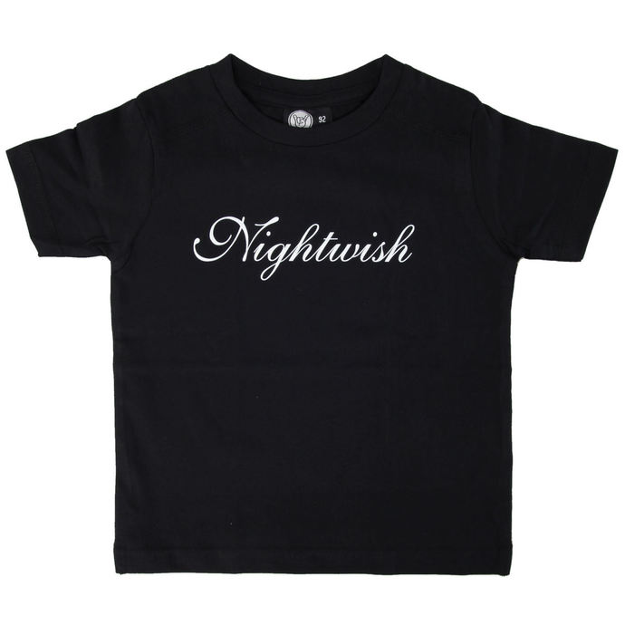 tričko dětské Nightwish - Logo - Black - Metal-Kids