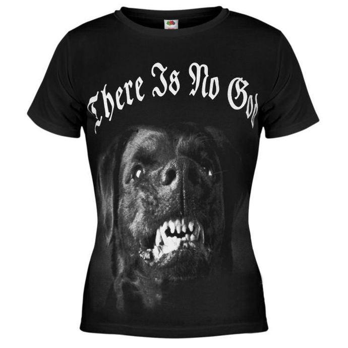 tričko dámské AMENOMEN - Dog - BLK