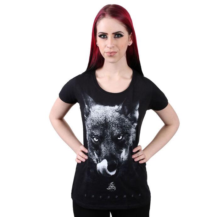 tričko dámské AMENOMEN - Bad Wolf - BLK