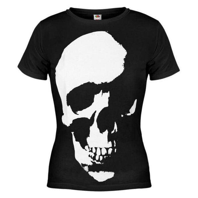 tričko dámské AMENOMEN - Skull - BLK