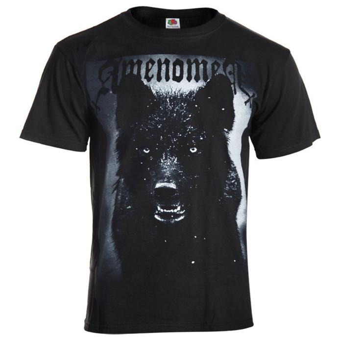 tričko pánské AMENOMEN - Black Wolf - BLK
